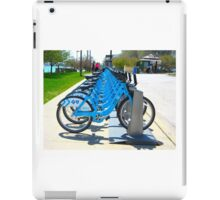 Rent & Ride Chicago Bicycles iPad Case/Skin