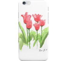 Washington Square Park Tulips iPhone Case/Skin