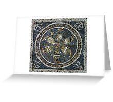 Household Mosaic Greeting Card