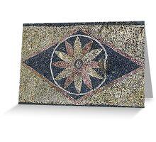 Household Mosaic, Delos Island, Greece Greeting Card