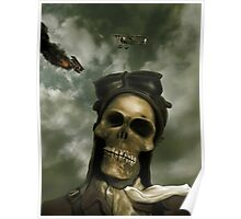 Death From the Skies Poster