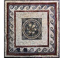 Household Mosaic, Delos  Photographic Print