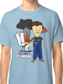 Butt-Hole's Plumbing Classic T-Shirt