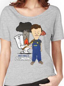 Butt-Hole's Plumbing Women's Relaxed Fit T-Shirt