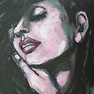 Melancholy - Portrait Of A Woman by CarmenT