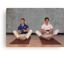 Broga - Video Gamekasana Pose Canvas Print
