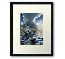 Storm Chasing Framed Print
