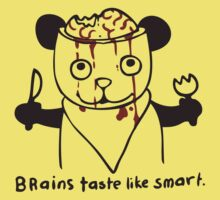brains taste like smart by Paul McClintock