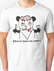 brains taste like smart Unisex T-Shirt