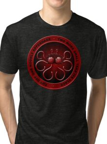 Noodly Hydra (with phrase) Tri-blend T-Shirt