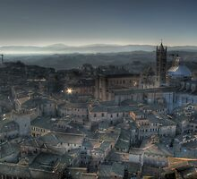 """Tuscan Twilight"" (Siena, Italy) by Paul Ryan"