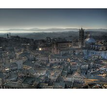 """Tuscan Twilight"" (Siena, Italy) Photographic Print"