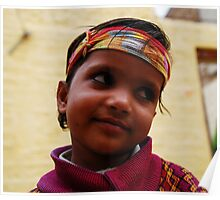 Boy from Jaisalmer Poster