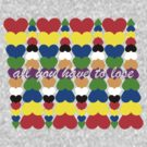 Hearts, Squared by allyouhave