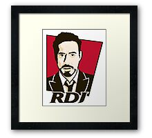 Robert Downey Jr. - KFC Logo Framed Print