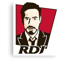 Robert Downey Jr. - KFC Logo Canvas Print