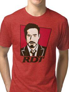 Robert Downey Jr. - KFC Logo Tri-blend T-Shirt