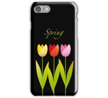 Three Tulips iPhone Case/Skin