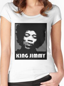 KING JIMMY Women's Fitted Scoop T-Shirt