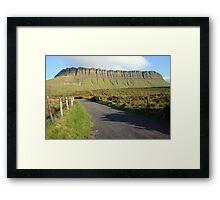 Benbulben mountain 2 Framed Print