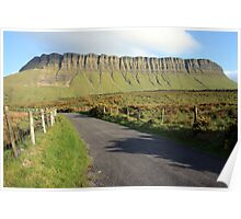 Benbulben mountain 2 Poster