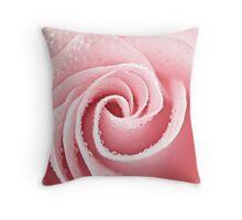Elegant Rose Throw Pillow