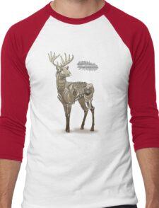 Robodeer3000 Men's Baseball ¾ T-Shirt