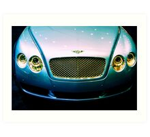 Bentley Art Print