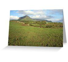 Benbulben mountain 3 Greeting Card