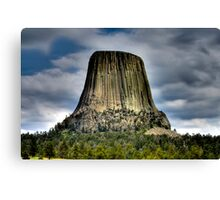 Devil's Tower Canvas Print