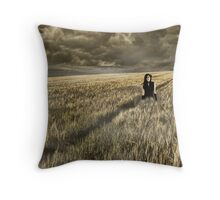 Lost Soul    (collaboration with Shelly Hiebert) Throw Pillow