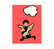 What's Wasp thinking? Art Print