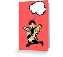 What's Wasp thinking? Greeting Card