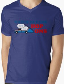 Watch out for Hop Ons Mens V-Neck T-Shirt