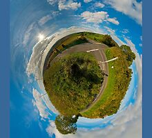 Country Roads - Killea Crossroads, Derry, N. Ireland by George Row