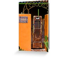 Gas Tank Door on 666 Greeting Card