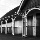 Beach huts for rent by clickinhistory