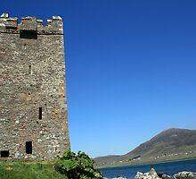 Grainne Mhaols castle 2 by John Quinn