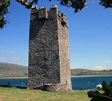 Grainne Mhaols castle 3 by John Quinn