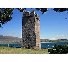 Grainne Mhaols castle 3 Photographic Print