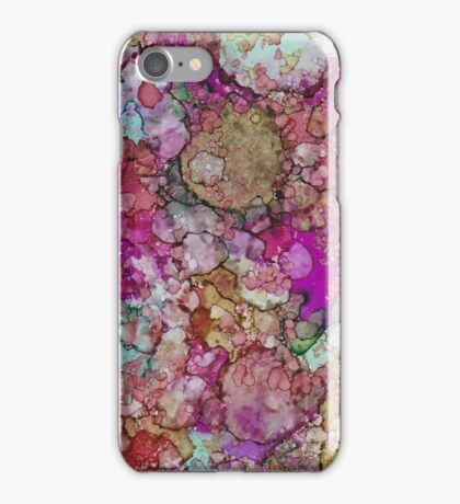 Fuschia Granite iPhone Case/Skin