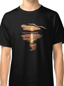 Flying seagull  Classic T-Shirt