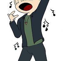 Dean Winchester Karaoke Superstar by MistyFigs