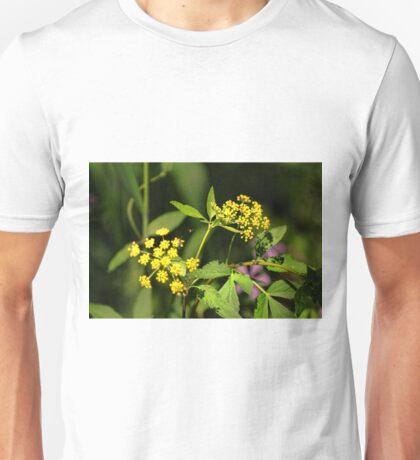 Wild Flower Yellow Unisex T-Shirt