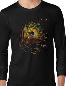 Multicolor Eye Long Sleeve T-Shirt