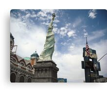 New York and MGM Canvas Print