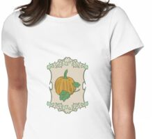 Gardener's Delight | Pumpkin Womens Fitted T-Shirt