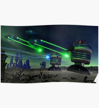 Alien Attack 1 Poster