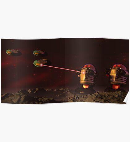 Alien Attack 2 Poster