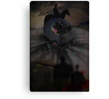 Creepy UFO Crash 2 Canvas Print